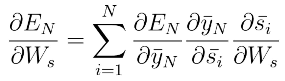general equation | Problems Recurrent neural networks